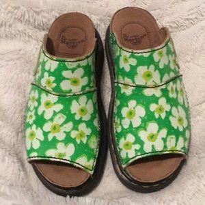 Dr Marten vintage floral sandals